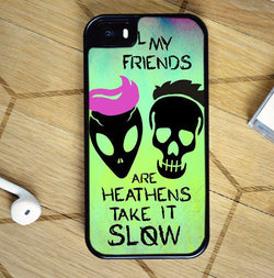 Twenty One Pilots Heathens Lyrics - iPhone 7 Case, iPhone 6/6S Plus, iPhone 5 5S SE, Nexus, HTC M9, LG G5, Samsung Galaxy S5 S6 S7 Edge Cases