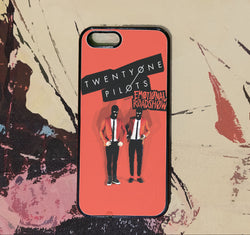 Twenty One Pilots Emotional Roadshow - iPhone 6/6S Case, iPhone 5/5S Case, iPhone 5C Case plus Samsung Galaxy S4 S5 S6 Edge Cases