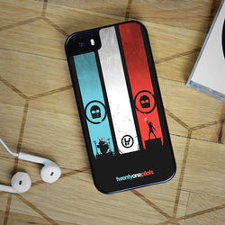 Twenty One Pilots - iPhone 4, iPhone 5 5S 5C, iPhone 6 Case, plus Samsung Galaxy S4 S5 S6 Edge Cases