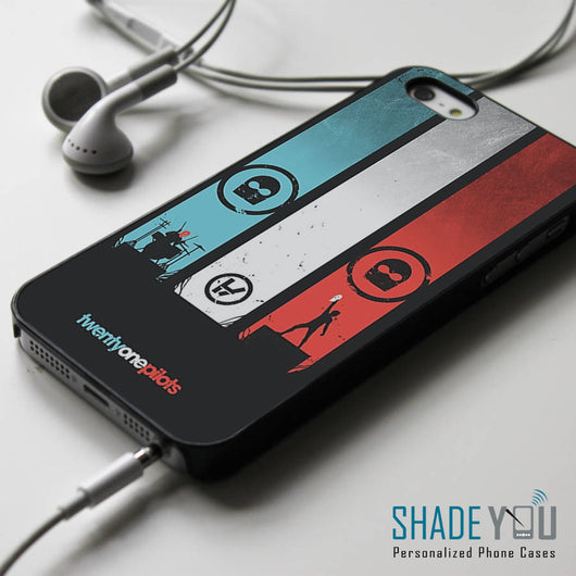 Twenty One Pilots - iPhone 4/4S, iPhone 5/5S/5C, iPhone 6 Case & Samsung Galaxy S4/S5 Cases