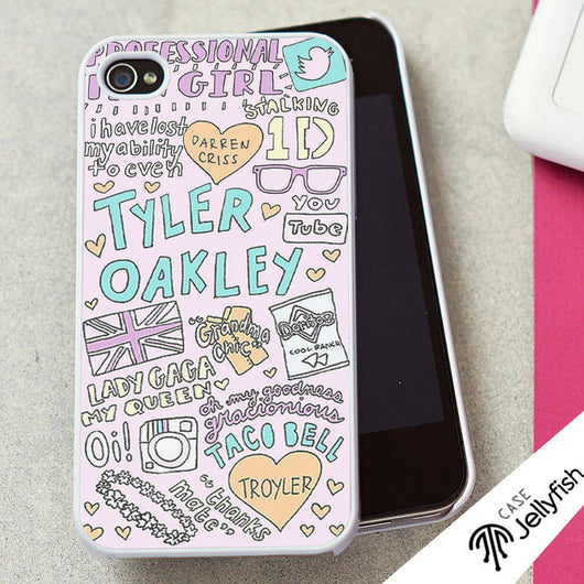 Tyler Oakley Collage - iPhone 4/4S, iPhone 5/5S/5C, iPhone 6 Case, Samsung Galaxy S4/S5 Case