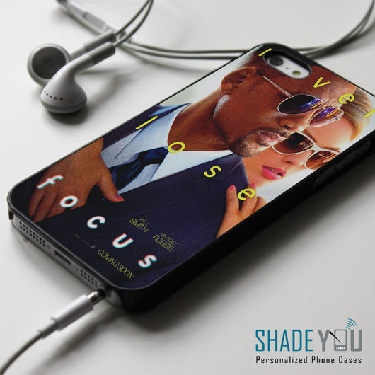 Will Smith Focus the movie - iPhone 4/4S, iPhone 5/5S/5C, iPhone 6 Case, Samsung Galaxy S4/S5 Cases