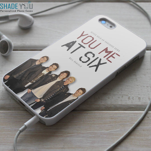 You Me at Six Band - iPhone 4/4S, iPhone 5/5S/5C, iPhone 6 Case, Samsung Galaxy S4/S5 Cases