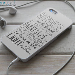 Harry Potter Albus Dumbledore Quotes iPhone 4/4S, iPhone 5/5S, iPhone 5C Case, Samsung Galaxy S4/S5 Cases
