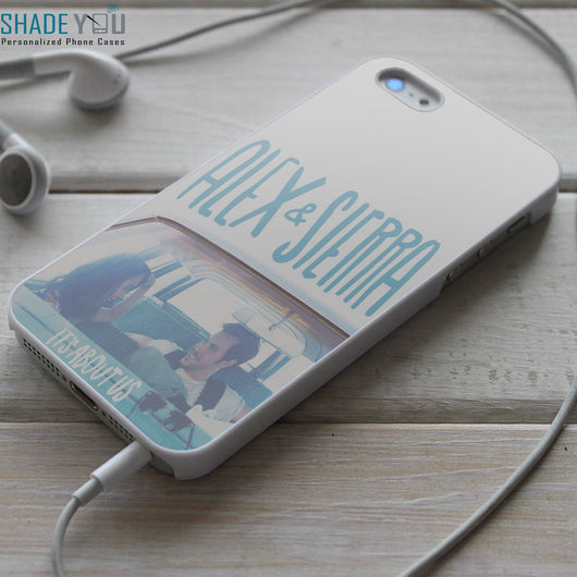 Alex & Sierra Lyrics iPhone 4/4S, iPhone 5/5S/5C, iPhone 6 Case, and Samsung Galaxy S4/S5 Cases