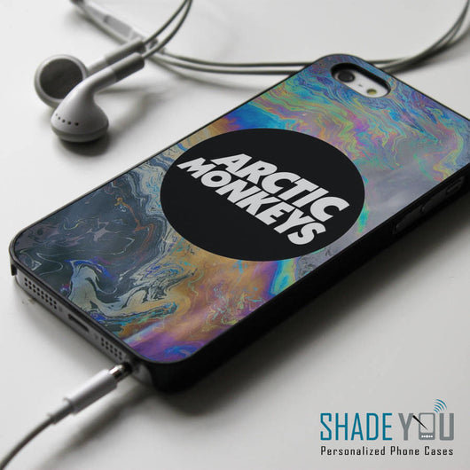 Arctic Monkeys Rainbow AM iPhone 4/4S, iPhone 5/5S/5C, iPhone 6 Case, Samsung Galaxy S4/S5 Cases