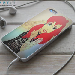 Ariel Tattoed JD iPhone 4/4S, iPhone 5/5S/5C, iPhone 6 Case, Samsung Galaxy S4/S5 Cases