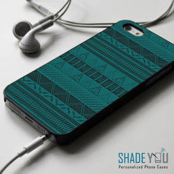 Harry Potter and the Deathly Hallows Aztec Pattern - iPhone 4/4S, iPhone 5/5S/5C, iPhone 6 Case, Samsung Galaxy S4/S5 Cases