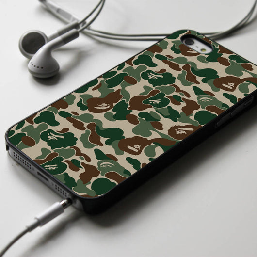 Bape Camo Pattern - iPhone 4/4S, iPhone 5/5S/5C, iPhone 6 Case, Samsung Galaxy S4/S5 Cases