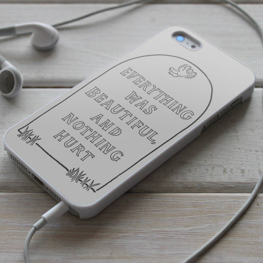 Billy Pilgrim Tombstone - Slaughterhouse Five iPhone 4/4S, iPhone 5/5S/5C, iPhone 6 Case, Samsung Galaxy S4/S5 Cases