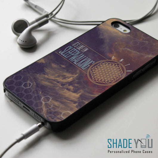Bring Me The Horizon Sleepwalking Lyrics iPhone 4/4S, iPhone 5/5S/5C, iPhone 6 Case, Samsung Galaxy S4/S5 Cases