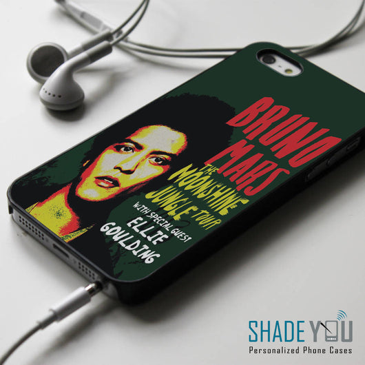 Bruno Mars Moonshine Jungle Tour iPhone 4/4S, iPhone 5/5S/5C, iPhone 6 Case, Samsung Galaxy S4/S5 Cases