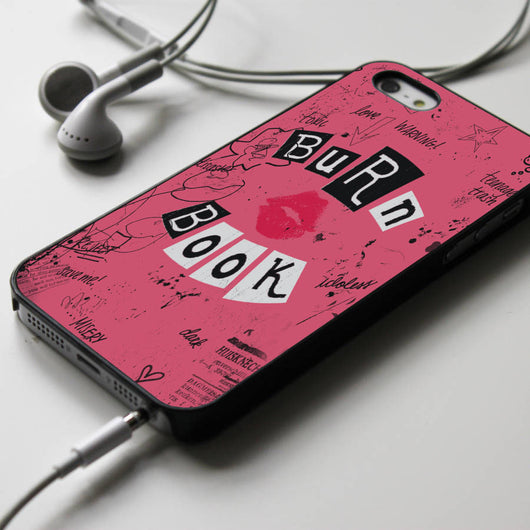 Burn Book Cover - Mean Girls iPhone 4/4S, iPhone 5/5S/5C, iPhone 6 Case, Samsung Galaxy S4/S5 Cases