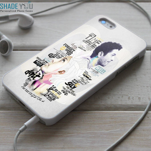 Snow Patrol Chasing Cars Lyrics iPhone 4/4S, iPhone 5/5S/5C, iPhone 6 Case, Samsung Galaxy S4/S5 Cases