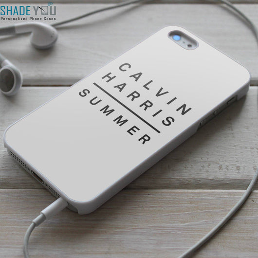 Calvin Harris Summer iPhone 4/4S, iPhone 5/5S/5C, iPhone 6 Case, Samsung Galaxy S4/S5 Cases