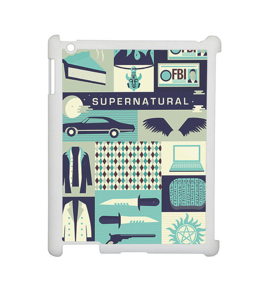Supernatural Collage Cover - iPad 2, iPad 3, iPad 4, and iPad Mini Cases