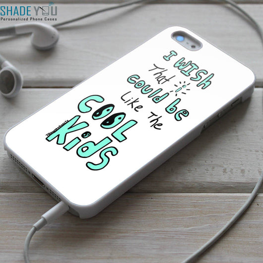 Echosmith Cool Kids Lyrics iPhone 4/4S, iPhone 5/5S/5C, iPhone 6 Case, Samsung Galaxy S4/S5 Cases
