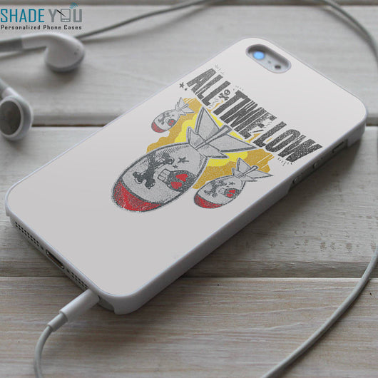 All Time Low Da Bomb iPhone 4/4S, iPhone 5/5S/5C, iPhone 6 Case, Samsung Galaxy S4/S5 Case