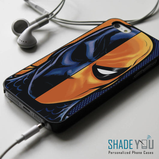 Deathstroke Superhero Mask - iPhone 4/4S, iPhone 5/5S/5C, iPhone 6 Case, Samsung Galaxy S4/S5 Cases