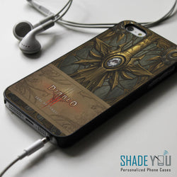 Book of Tyrael Cover Diablo 3 iPhone 4/4S, iPhone 5/5S/5C, iPhone 6 Case, Samsung Galaxy S4/S5 Cases