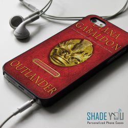 Diana Gabaldon Outlander Book Cover - iPhone 4/4S, iPhone 5/5S/5C, iPhone 6 Case, Samsung Galaxy S4/S5 Cases