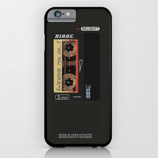Diane Awesome Mix Vol 1 Tape Recorder - Twin Peaks iPhone 6 + iPhone 6 Plus Cases
