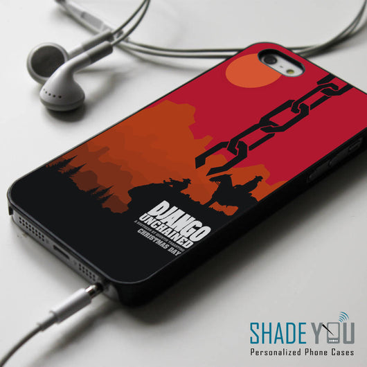 Django Unchained iPhone 4/4S, iPhone 5/5S/5C, iPhone 6 Case, Samsung Galaxy S4/S5 Cases