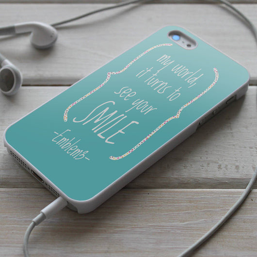 Emblem3 Lyrics - iPhone 4/4S, iPhone 5/5S/5C, iPhone 6 Case, Samsung Galaxy S4/S5 Case