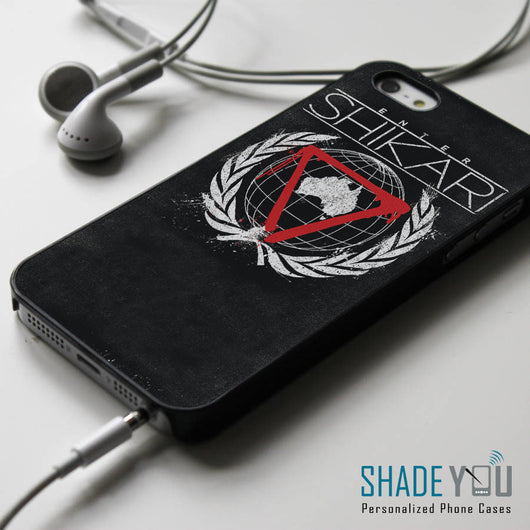 Enter Shikari Band - iPhone 4/4S, iPhone 5/5S/5C, iPhone 6 Case, Samsung Galaxy S4/S5 Cases