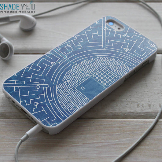 The Maze Runner Glade Map - iPhone 4/4S, iPhone 5/5S/5C, iPhone 6 Case, Samsung Galaxy S4/S5 Cases
