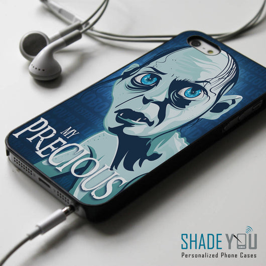 My Precious Gollum Smeagol TLOTR iPhone 4/4S, iPhone 5/5S, iPhone 5C Case, Samsung Galaxy S4/S5 Cases