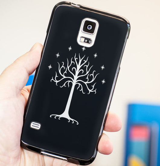 Tree of Gondor The Hobbit - Plastic / Rubber Samsung Galaxy S3 S4 S5 and Note 3 Cases