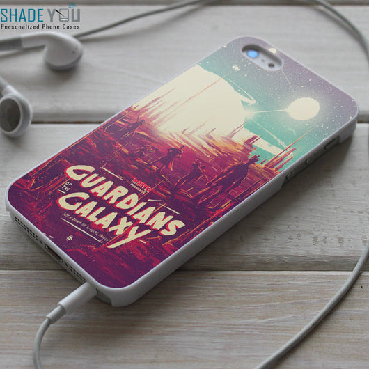 Guardians of the Galaxy Retro Art - iPhone 4/4S, iPhone 5/5S/5C, iPhone 6 Case, Samsung Galaxy S4/S5 Cases