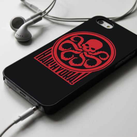 Hail Hydra - Captain America iPhone 4/4S, iPhone 5/5S/5C, iPhone 6 Case, Samsung Galaxy S4/S5 Cases