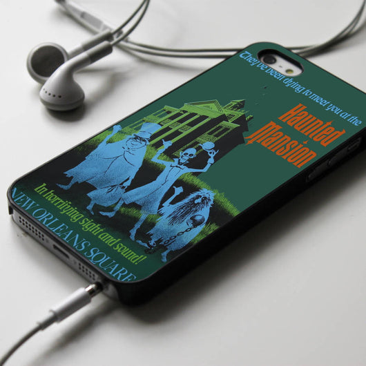 Haunted Mansion Poster iPhone 4/4S, iPhone 5/5S, iPhone 5C Case, Samsung Galaxy S4/S5 Cases