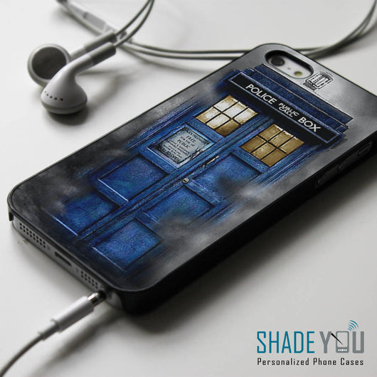 Doctor Who Haunted Tardis iPhone 4/4S, iPhone 5/5S/5C, iPhone 6 Case, Samsung Galaxy S4/S5 Cases