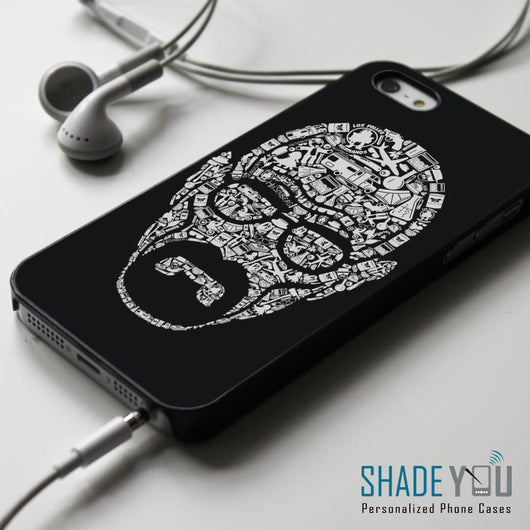 Heisenberg Walter White Collage iPhone 4/4S, iPhone 5/5S, iPhone 5C Case, Samsung Galaxy S4/S5 Cases