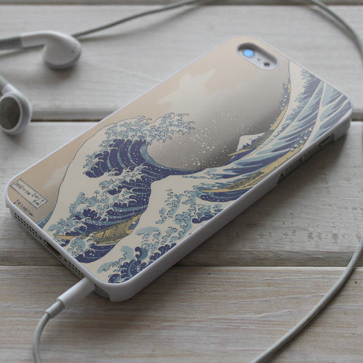 The Great Wave off Kanagawa - iPhone 4/4S, iPhone 5/5S, iPhone 5C Case, Samsung Galaxy S4/S5 Cases