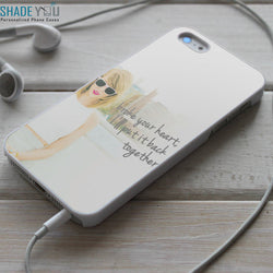 Taylor Swift how you get the girl Lyrics - iPhone 4/4S, iPhone 5/5S/5C, iPhone 6 Case, Samsung Galaxy S4/S5 Cases