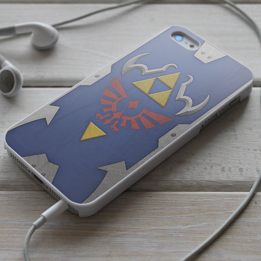 The Hylian Shield Triforce - iPhone 4/4S, iPhone 5/5S/5C, iPhone 6 Case, Samsung Galaxy S4/S5 Cases