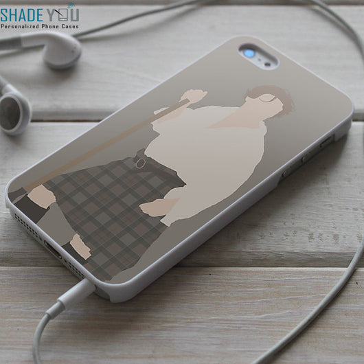 Outlander Starz Series Jamie Fraser Art - iPhone 4/4S, iPhone 5/5S/5C, iPhone 6 Case, Samsung Galaxy S4/S5 Cases