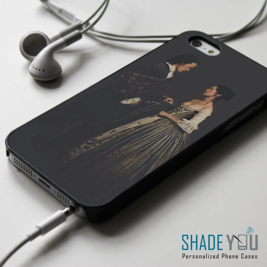 Claire and Jamie Fraser Wedding Outlander Starz Series - iPhone 4/4S, iPhone 5/5S/5C, iPhone 6 Case, Samsung Galaxy S4/S5 Cases
