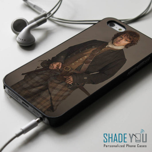 Jamie Fraser Outlander Starz Series - iPhone 4/4S, iPhone 5/5S/5C, iPhone 6 Case, Samsung Galaxy S4/S5 Cases