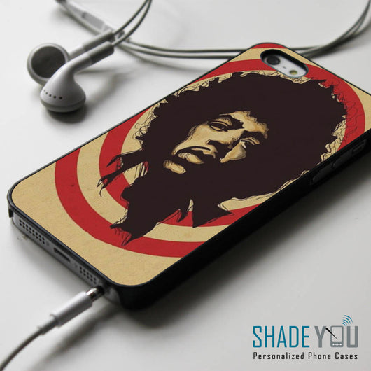 Jimi Hendrix iPhone 4/4S, iPhone 5/5S/5C, iPhone 6 Case, Samsung Galaxy S4/S5 Case