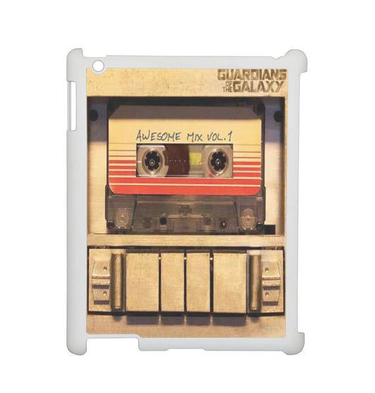 Awesome Mix Vol 1 Casette Tape Recorder Cover - iPad 2, iPad 3, iPad 4, and iPad Mini Cases