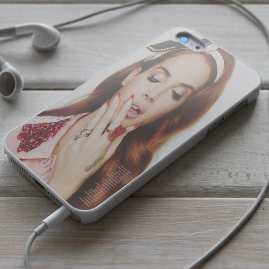 Lana Del Rey - iPhone 4/4S, iPhone 5/5S/5C, iPhone 6 Case, Samsung Galaxy S4/S5 Cases
