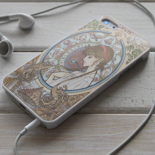 Laputa: Castle in the Sky - iPhone 4/4S, iPhone 5/5S/5C, iPhone 6 Case, Samsung Galaxy S4/S5 Cases