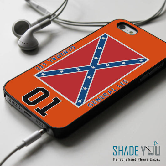 General Lee Roof The Dukes of Hazzard iPhone 4/4S, iPhone 5/5S/5C, iPhone 6 Case, Samsung Galaxy S4/S5 Cases