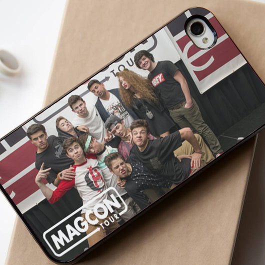 Magcon Boys Tour - iPhone 4/4S, iPhone 5/5S, iPhone 5C Case, Samsung Galaxy S4/S5 Case