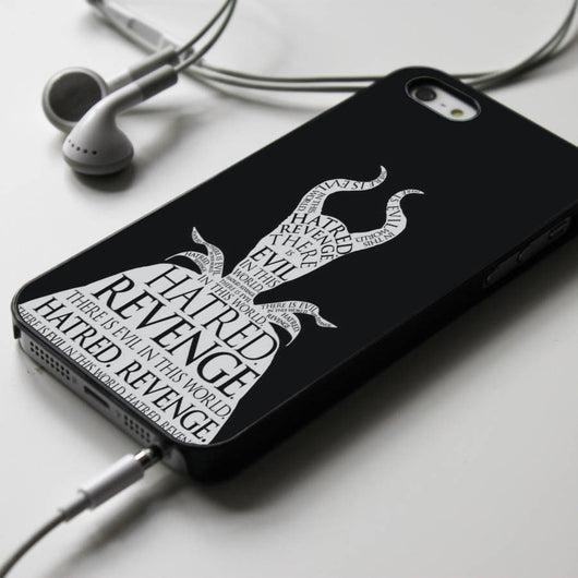 Maleficent Quotes iPhone 4/4S, iPhone 5/5S, iPhone 5C Case, Samsung Galaxy S4/S5 Cases